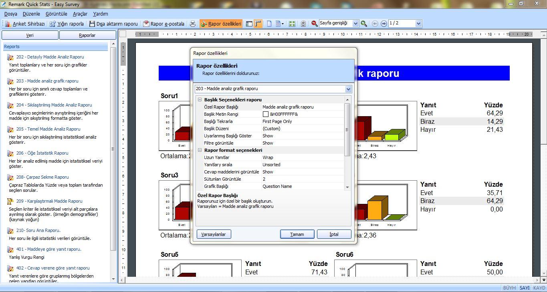 Optik Okuma Yazılımı Ekran Görüntüsü